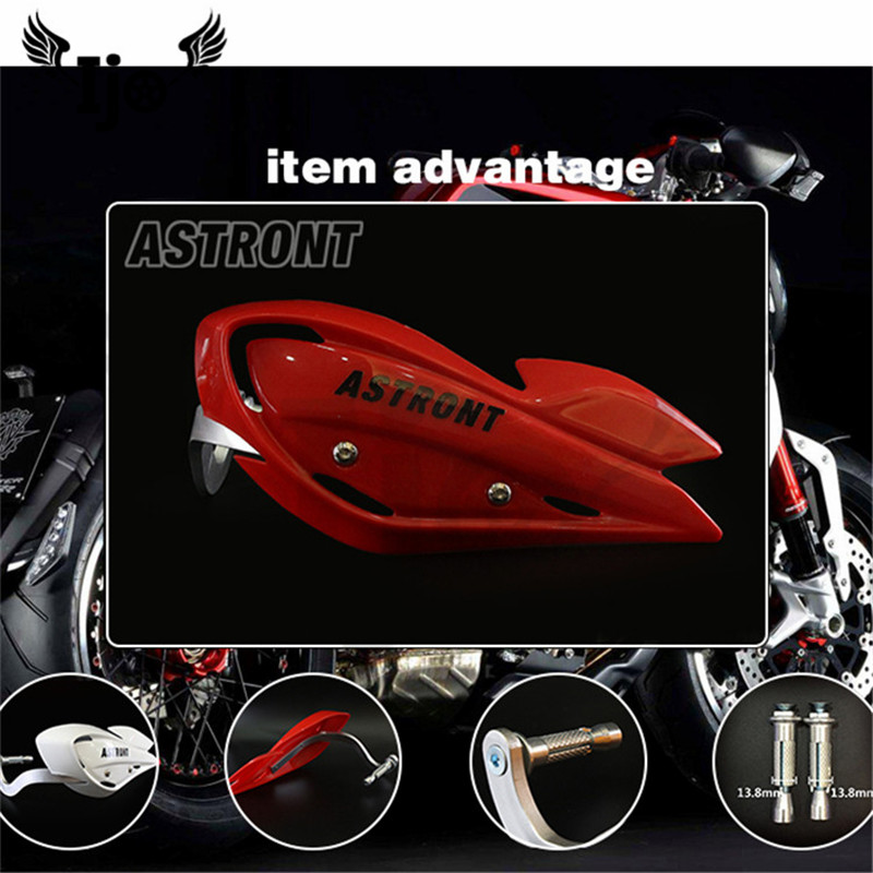 Top qualité 6 couleurs disponibles épaississement moto protection des mains moto rcycle garde des mains pour KTM dirt pit moto cross handguard
