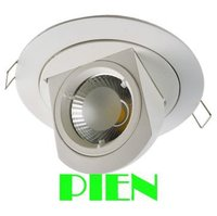 Adjustable Led Downlight 10W COB Gimable Rotation Lampada Recessed Fixture For Clothing Store 85V 265V Free