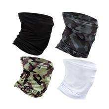 Рыбалка шарф маска УФ Блокировка бандана головной убор Велоспорт Туризм Открытый хиджаб платок на голову лицо щит Baff