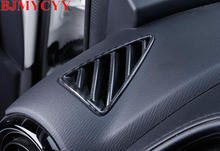 BJMYCYY Car styling Control out of the tuyere decoration frame in car For Mazda CX3 Accessories