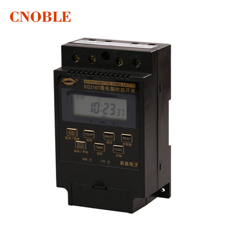 Digital timer time switch kg316t microcomputer timer switch programmable Timer controller AC 220V 5pcs kg316t digital microcomputer timer switch ac220v bs316 time control delay switch high quality controller