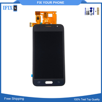 Can Adjust Brightness Phone Lcd For Samsung J120 J1 2016 LCD Screen Assembly Mobile Phone Display
