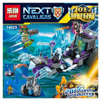 Lepin 14029 Nexus Knights Building Blocks set Ruina's Lock & Roller Kids gift bricks toys compatible with