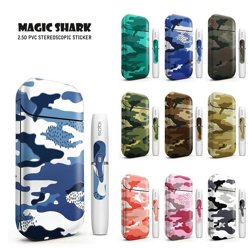 STICKER For IQOS 3M Printing PVC Material Skin For IQOS 2.4 Plus Sticker Case Sleeve Antidust Decorative Protective Cover