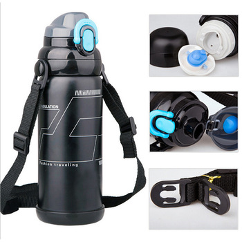 Large capacity TRAVEL KETTLE cup, stainless steel vacuum cup, outdoor sports bottle, 800ml creative gifts,men women,wholesale
