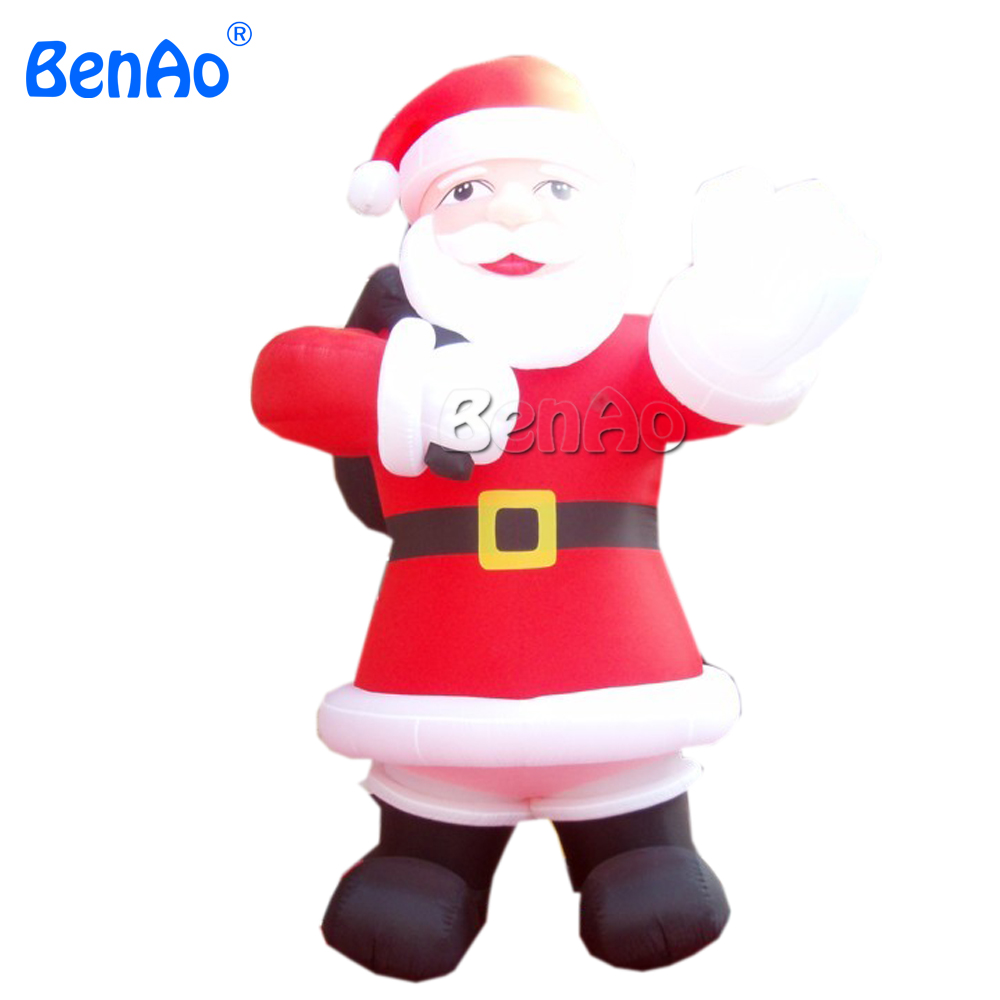 X077 5m high  inflatable giant christmas santa claus with blower freeshipping for advertising 5m high big inflatable christmas santa claus climbing wall decoration 16ft high china factory direct sale festival toy