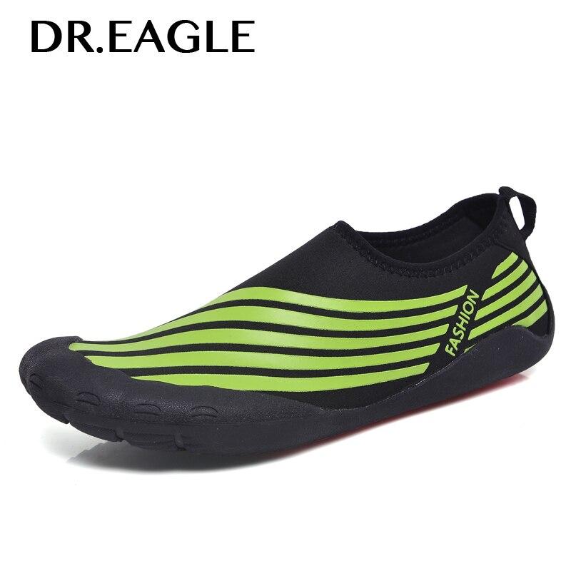 DR. EAGLE pantoufles chaussures de sport pour nager l'eau chaussettes nager été pieds nus chaussures hommes fitness mer et plage plongée chaussures de sport