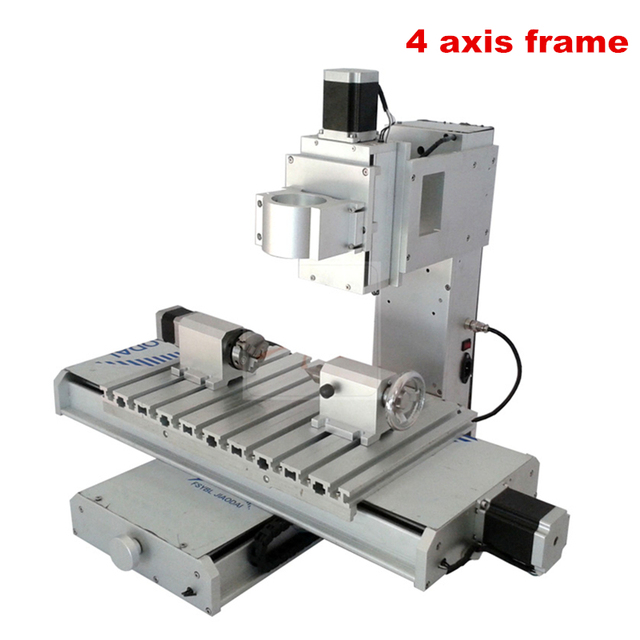 Vertical CNC frame 3040 4axis column type Engraving machine for DIY ...