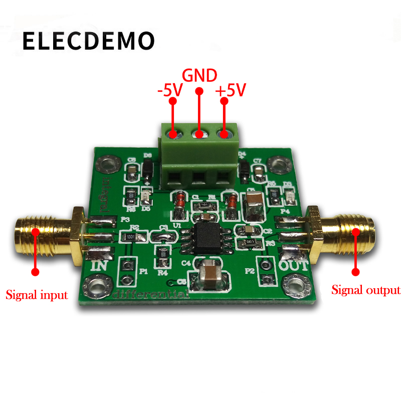 Image 2 - Analog Integral Operational Amplifier Module Low Frequency Signal Waveform Change Can be changed to Differential Operation Circu-in Demo Board Accessories from Computer & Office