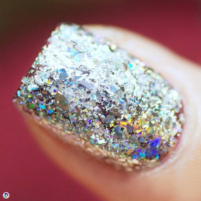 0.2g Holographic Nail Flakes Laser Glitter Shining Sequins Nail Art Decoration Powder Manicure Paillette Accessories