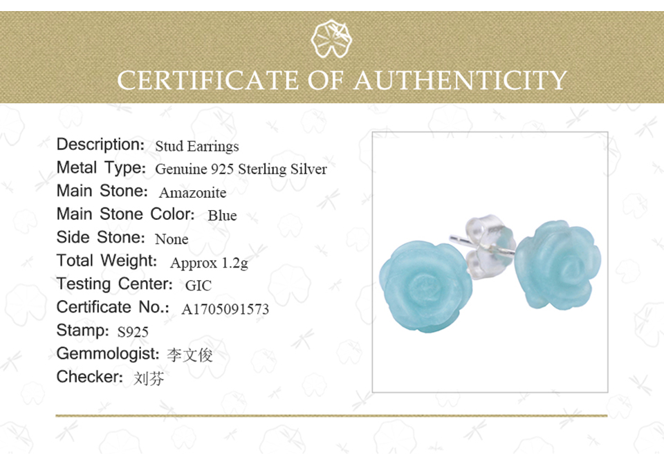 HTB1BLU6kVooBKNjSZPhq6A2CXXaz Lotus Fun Real 925 Sterling Silver Natural Stone Creative Handmade Fine Jewelry Vintage Flower Stud Earrings for Women Brincos