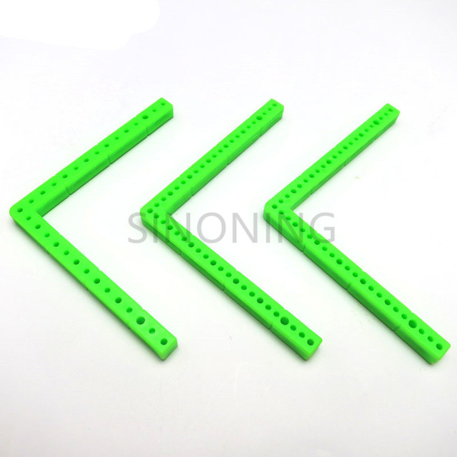 10pcs L rectangular plastic bar frame car chassis accessory DIY ...
