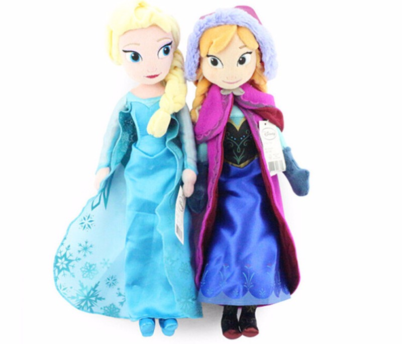 40cm-2pcs-lot-Plush-Doll-Toys-Unique-Gifts-Cute-Girls-Toys-Princess-Anna-Elsa-Doll-Girl