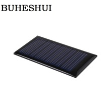 BUHESHUI 5V 30mA 53X30mm Mini Solar Cells Solar Panel DIY 3.6V Battery Solar LED Light l Education Kits 120pcs/lot Wholesale