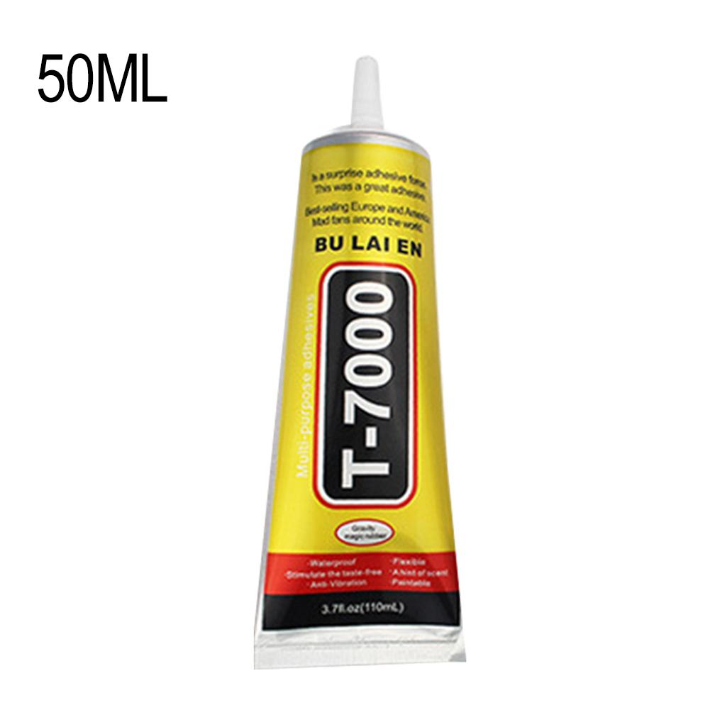T7000 Black Liquid Glue T-7000 Powerful New Epoxy Resin Glue Adhesive Mobile Phone Car Touch Screen Repair Tool Drop Shipping image