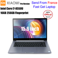 Xiaomi Mi Notebook Pro 15.6' Laptop Windows10 Intel Core I5/I7 Quad Core 1.8GHz 16G 256GB Fingerprint NVIDIA MX150 Gaming Laptop