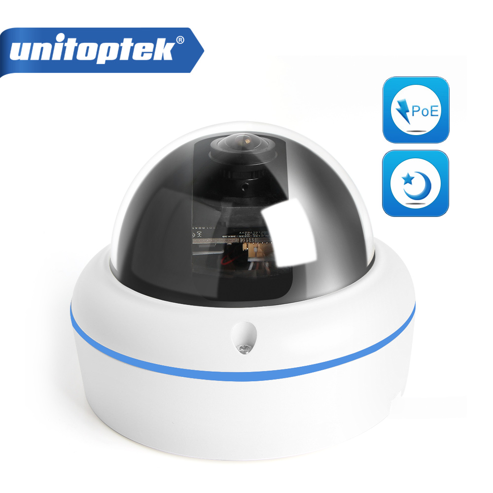 1 2 8 IMX291 2MP 1080P IP Camera POE Dome 0 0001Lux Starlight Low Lux Day