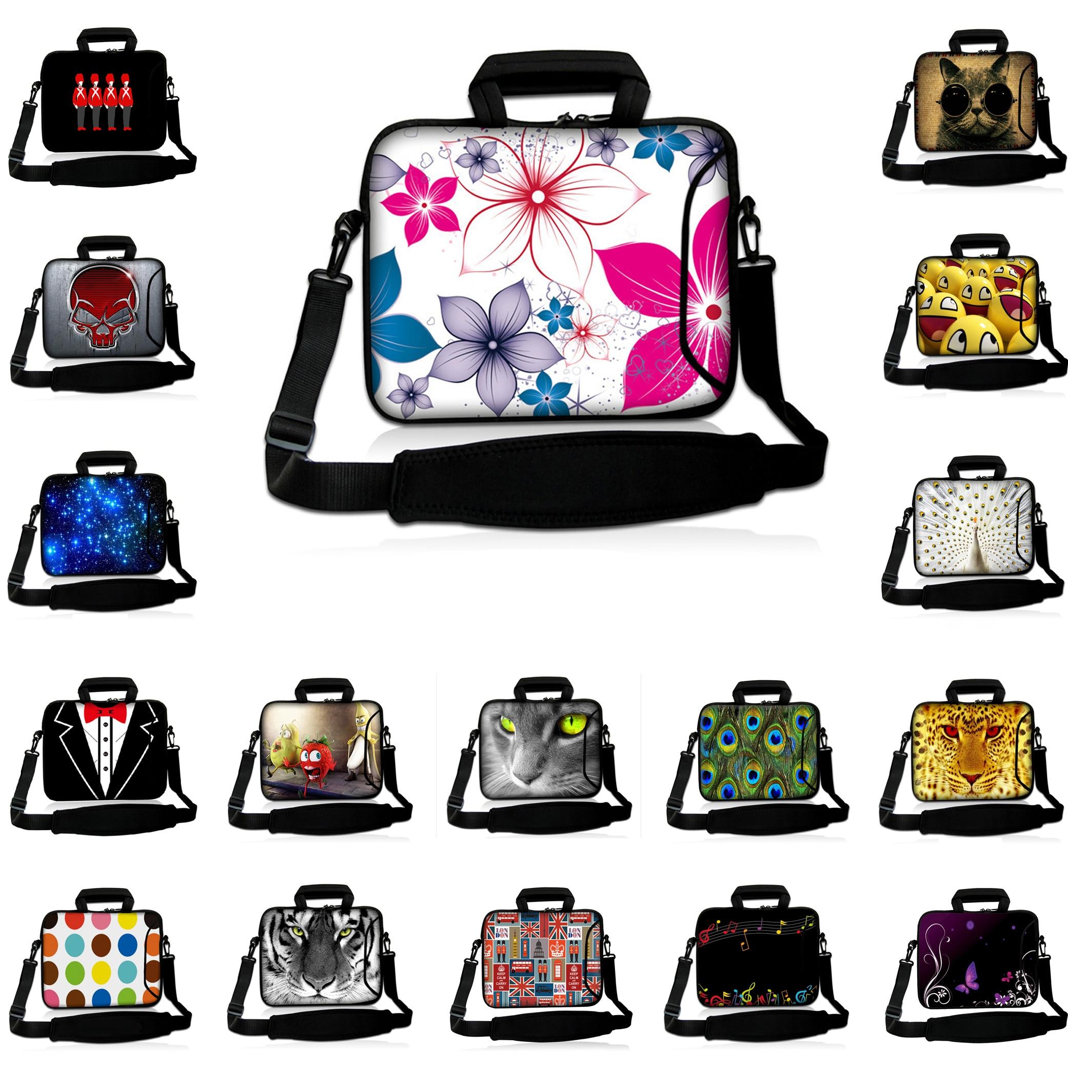 New Notebook Computer Bag For Women 16.8 Slim Portable Briefcase Shoulder Laptop Bags 17.4 17.3 17 Messenger Case For Macbook