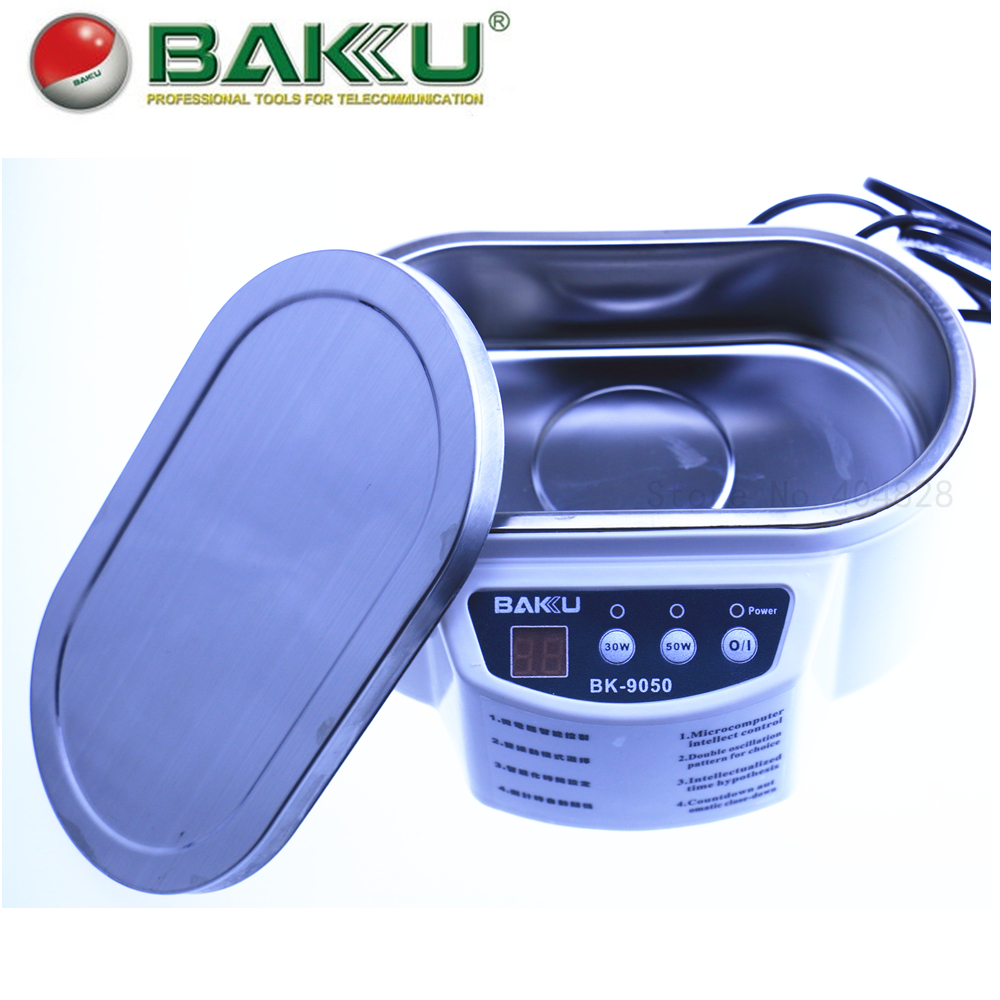 Mcu Intelligent Drive Ultrasonic Cleaner Bk 9050 Digital Display A210 Oscillatory Circuit For An Cleaning Device With Feedback
