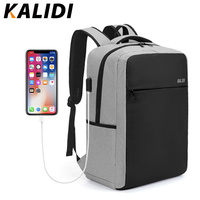KALIDI 15.6 inch Laptop Backpack Men Multifunction Waterproof School Student Backpack 17.3 inch Anti theft Backpack Women 2018