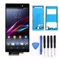 Для Sony Xperia Z1 L39H L39 ЖК-Экран Сенсорный экран Дигитайзер Ассамблеи c6902 c6903 LCD + Инструменты + Клей черный