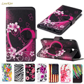 Leather Wallet Flip Case For Samsung Galaxy S3 S4 Mini Core 2 Grand Prime GT i8552 S7562 i8190 A3 A5 2017 J2 J5 J7 2016 Cover