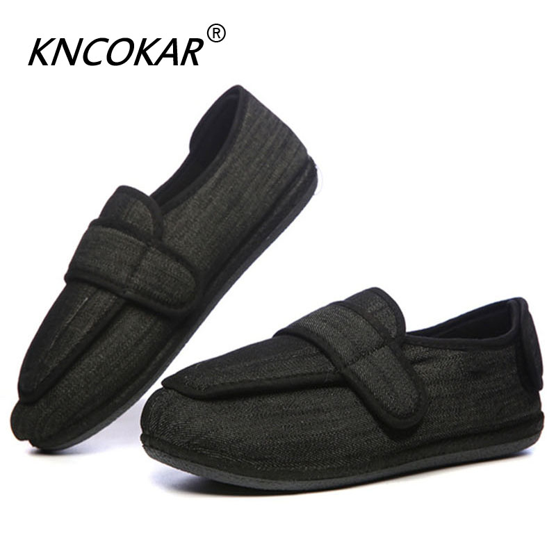 Dynamic Kncokar Thin Bottom Light Soft And Broad Shoes Feet Swelling Fat Deformation Wound Gauze Foot Wear Great Varieties