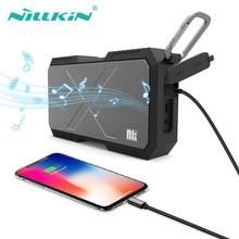 цены NILLKIN Portable Stereo Wireless Altavoz Bluetooth Speaker Column Bt Subwoofer Speakers Hifi Waterproof Sound Box Power Bank