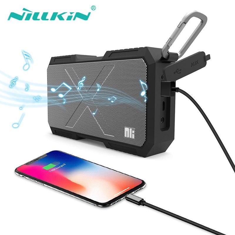 NILLKIN enceinte Portable stéréo sans fil Altavoz Bluetooth colonne Bt caisson de basses haut-parleurs Hifi boîtier de son étanche batterie externe