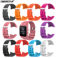 XBERSTAR Replacement Silicone Watch Strap Wrist Band For Polar M400 M430 Watchbands GPS Running Smart Sports