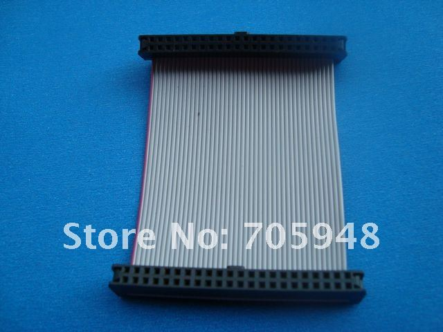 FREE SHIPPING IDE 44Pins laptop 2.5 Female to female F/F Hard Drive connector Ribbon Cable