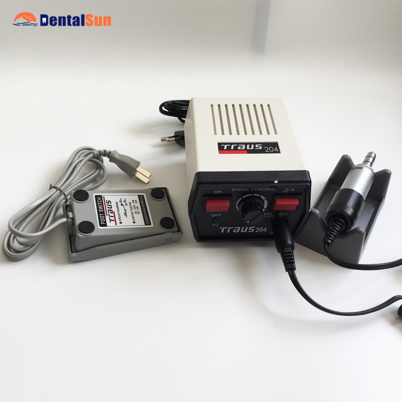 Dental Traus 204 Micro Motor with Traus 108E Handle