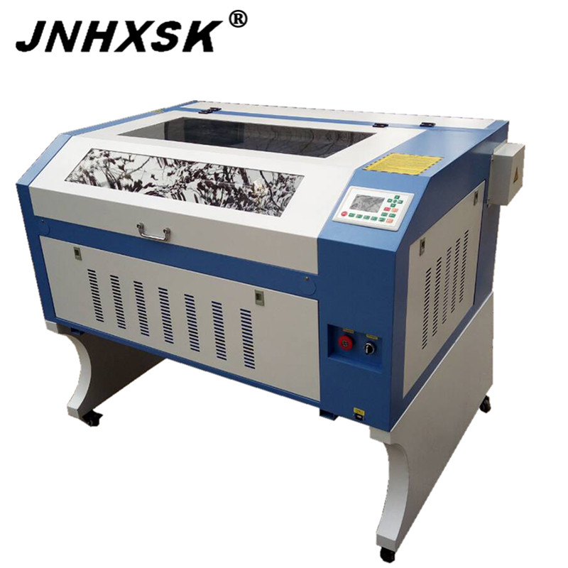 JNHXSK 6090 100w Laser Engraver Machine CO2 Laser Engraving Cutting Cnc Router Non-metal