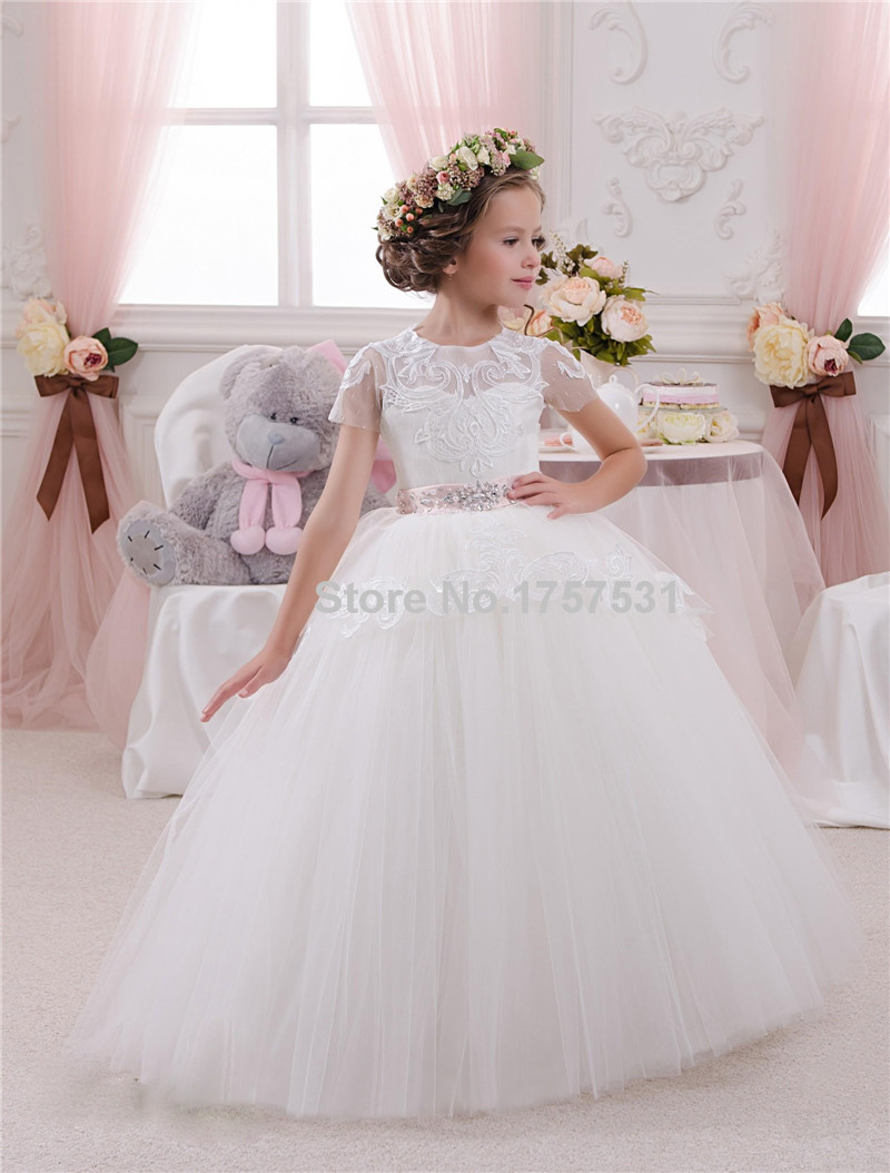 Aliexpress.com : Buy white/ivory first communion dresses for girls ...