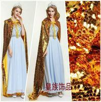 Luxury Sequin Cloak Beauty pageant Champion cloak 180cm long