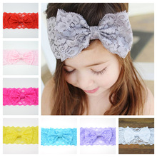YOOAP Baby Girl Hair Accessories  Rabbit Ear Headband Turban Bowknot Elastic Hairband Headwear