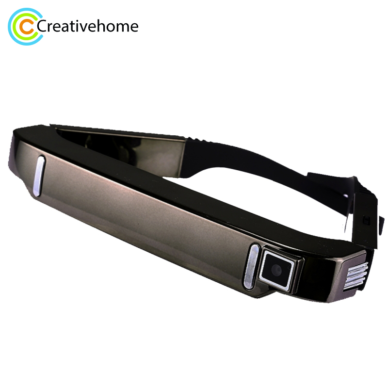 3D VR Glasses WiFi MTK6582 Quad Core 1GB+2GB Super Smart Retina Virtual Reality Glasses Headset with 5.0MP Camera