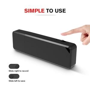 Image 2 - Vandlion 32G 64GB Rechargeable Mini Dictaphone WAV stylo Audio lecteur USB numérique enregistreur vocal Gravador de voz professionnel X1