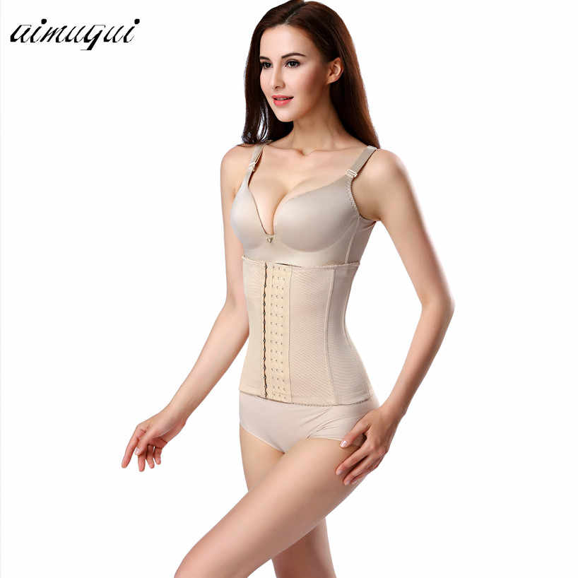 b81b7f3b355 ... body shaper corset modeling strap waist trainer steel bone Corrective  Underwear women Postpartum tummy belt Slimming ...