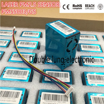 10pcs/lot G5 digital PM2.5 particulate matter concentration laser dust sensor high precision PMS5003 Laser PM2.5 DUST SENSOR