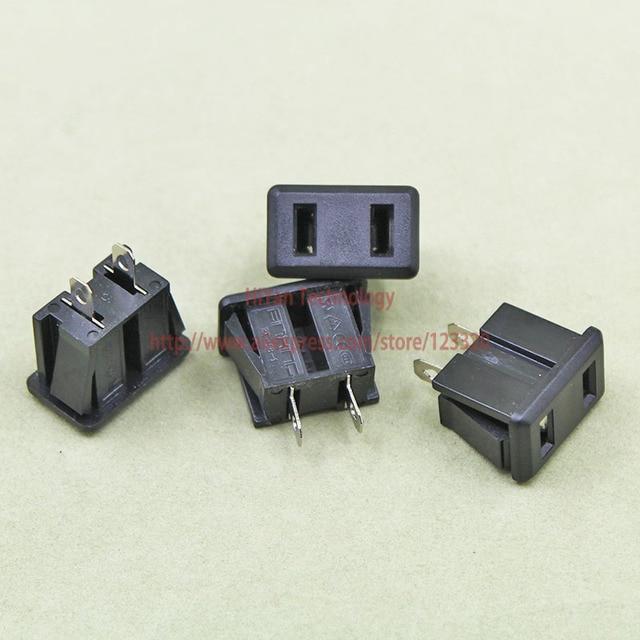 20pcs Lot BX 5B 1 AC Power Socket Outlet Industrial 25A 250V 2Pins