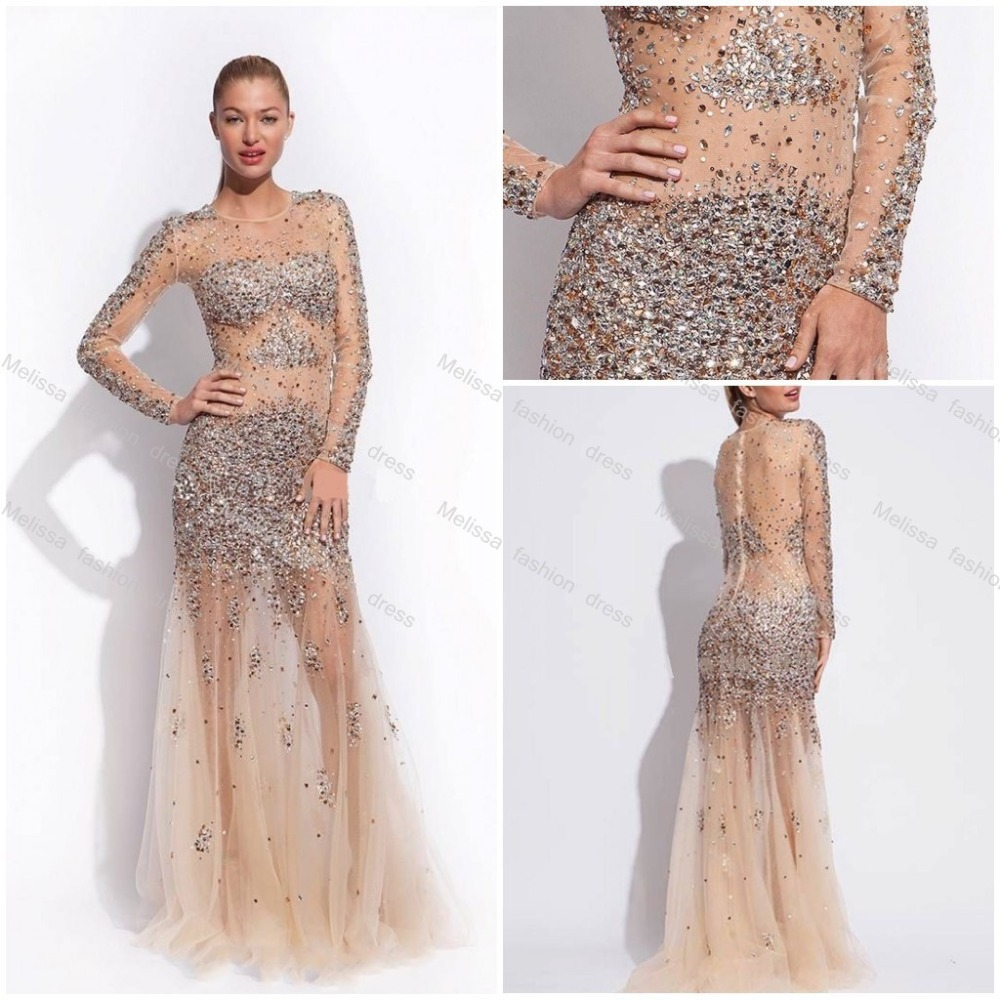 Popular Nude Sheer Dress-Buy Cheap Nude Sheer Dress Lots From China Nude Sheer Dress -1644