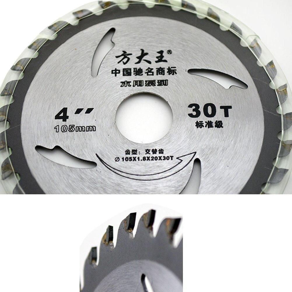 4 Pulgadas 30T 40T Hoja de Sierra Circular para cortar madera Discos para serrar