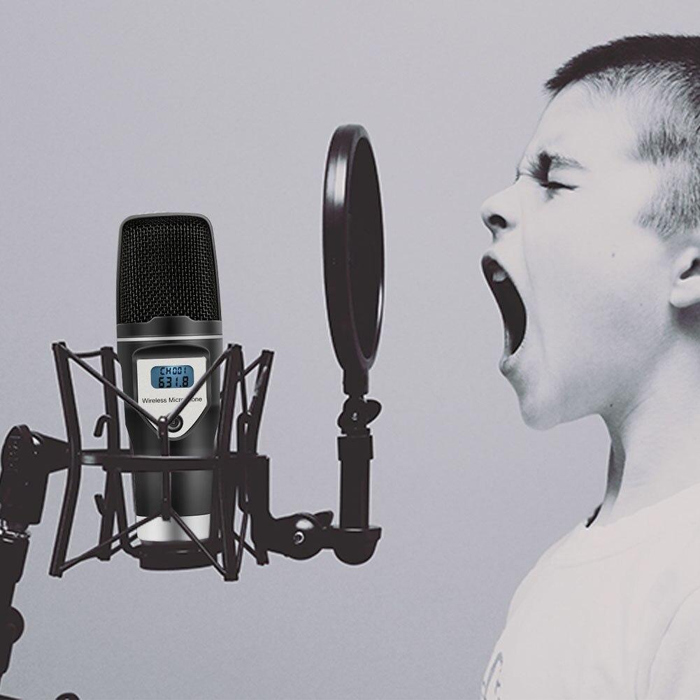 Micro USB sans fil Home Studio condensateur micro pour enregistrements Podcast recherche vocale jeux DJA99