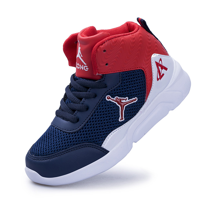 Basketball-Shoes Trainers Outdoor-Sneakers Boys Kids Summer Children's Mesh Breathable