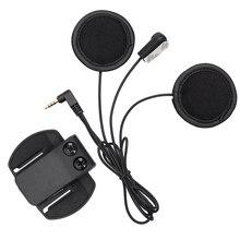 V6 наушники, мягкие наушники + микрофон + клип для работы V6 V4 мотоциклетный шлем bluetooth домофон мото BT домофонных гарнитура