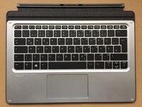 Nieuwe gr duitse toetsenbord voor hp elite x2 1012 g1 toetsenbord vergadering met touch panel (gr met backlit)