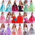 30 items = 10 платье + 10 ткань-вешалки + 10 пар обувь / вечерние ну вечеринку платье одежда аксессуары одежда для Kurhn Barbie кукла