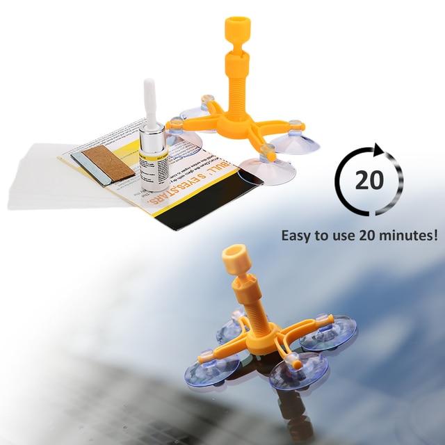 Kits de réparation de pare-brise bricolage outils de réparation de vitres de voiture 1