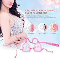 Effective Breast Massager Vacuum Cup Breast Enlargement Pump Nipple Sucker Big Up Bra Chest Enlarge Enhance Device for Women